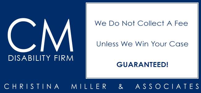 No Fee Guarantee - Unless We Win You Case